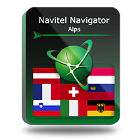 PROMO! Navitel Navigator. Alps Screen shot