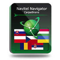 PROMO! Navitel Navigator. Carpathians Screen shot