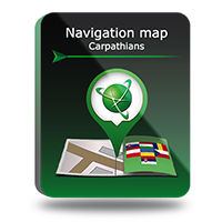 "PROMO! Navigation map ""Carpathians"" Screen shot"