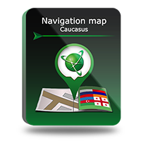 "PROMO! Navigation map ""Caucasus"" Screen shot"