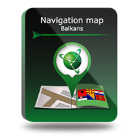 "Navigation map ""Balkans"""