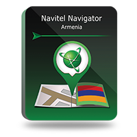 "Navitel Navigator. ""Armenia"" Screen shot"