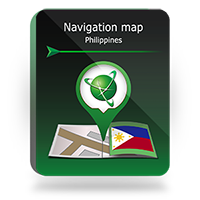 "Navigation map ""Philippines"""
